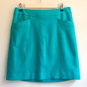 Ann Taylor | Teal Mini Skirt